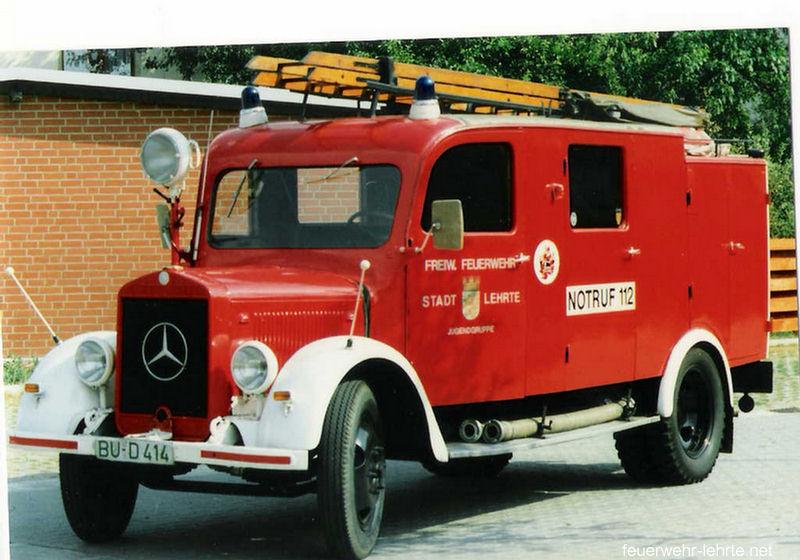Löschgruppenfahrzeug 8 Mercedes