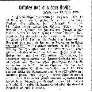 Jahr 1922