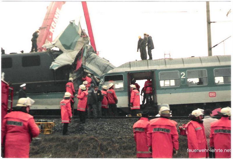Zugunglück am 24.01.1992