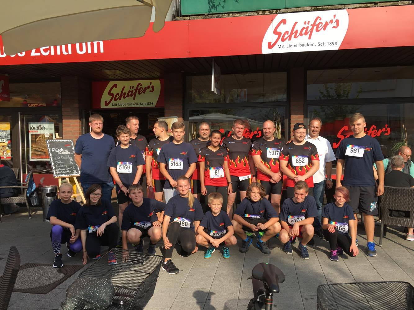 11 Jugendliche nehmen am Citylauf teil
