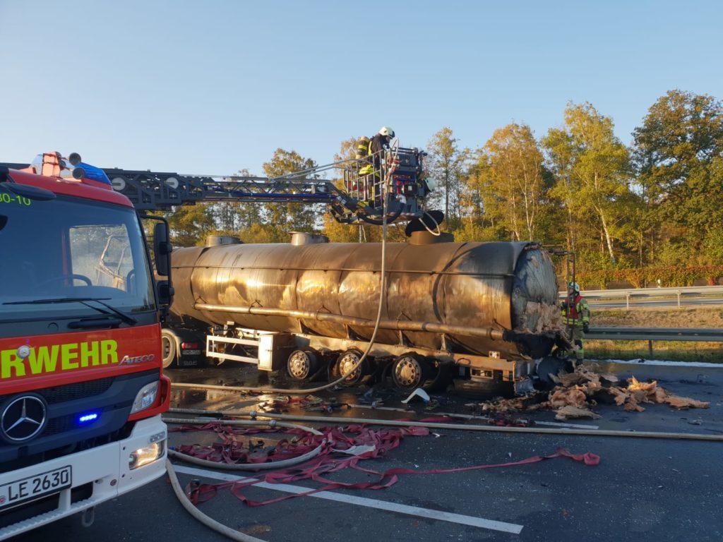 Nr. 170: Tanklaster fährt auf Stauende auf und gerät in Brand