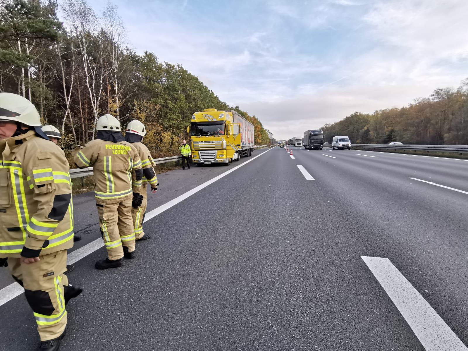 Nr. 203: Motorschaden löst Feuerwehreinsatz aus