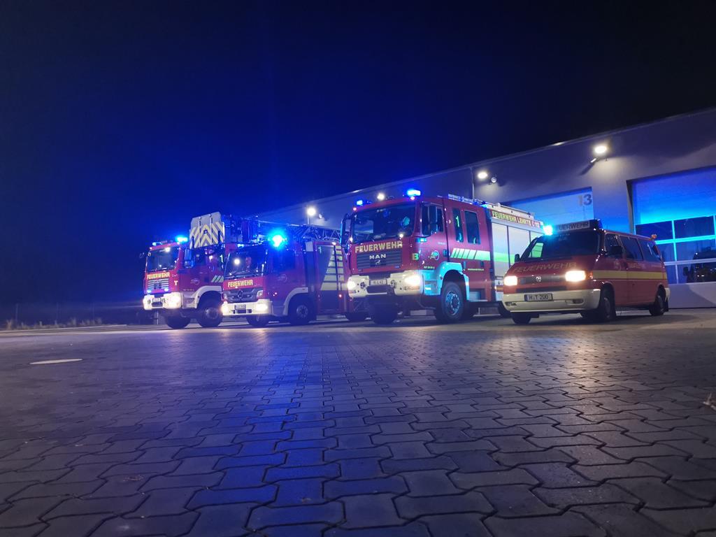 Einsatzbereitschaft auf der neuen Feuerwache