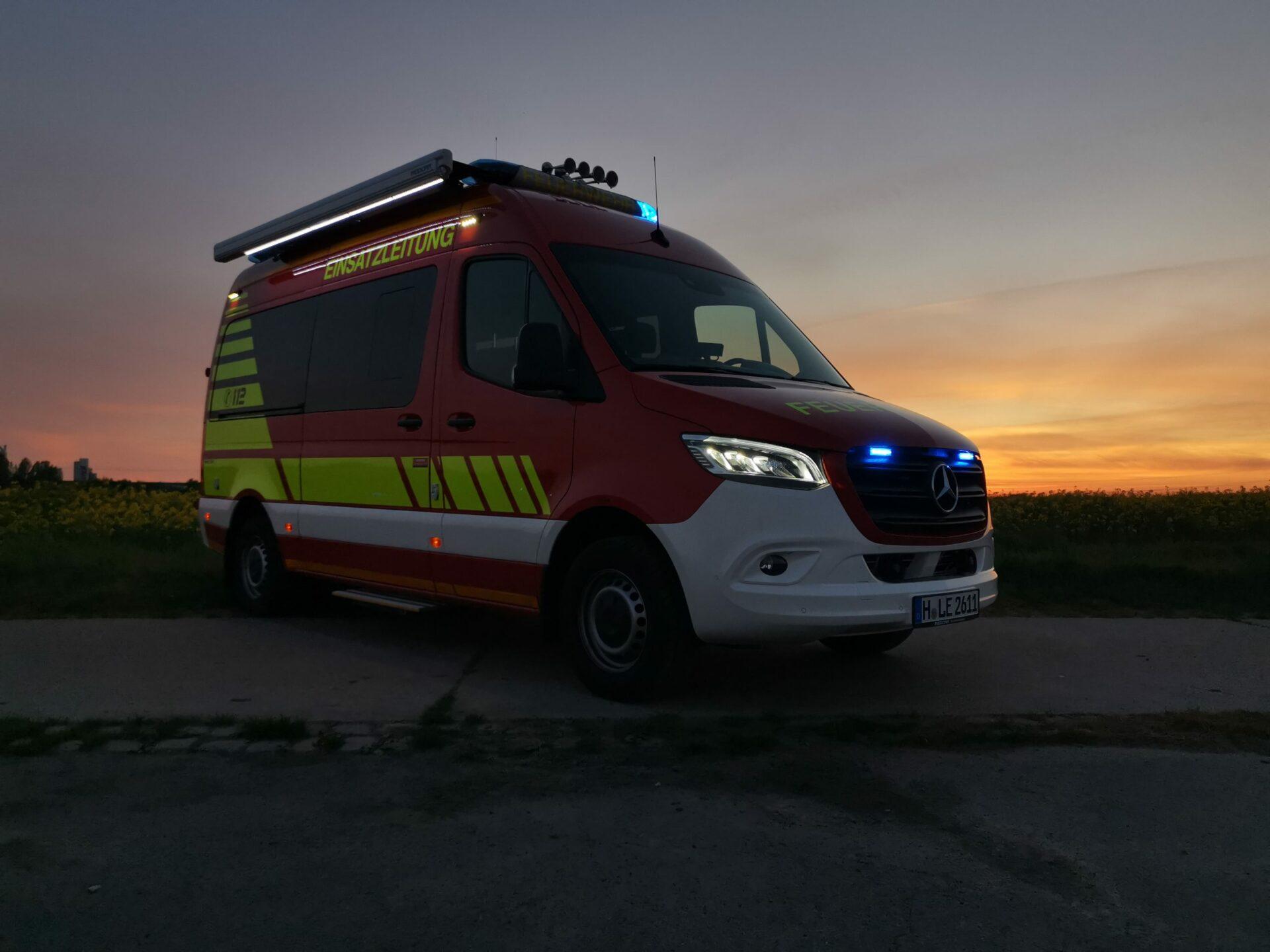 Vorstellungsvideo zum neuen ELW 1 der Feuerwehr Lehrte
