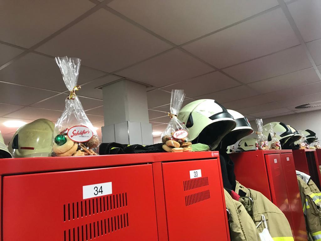 Der Nikolaus kommt zur Feuerwehr