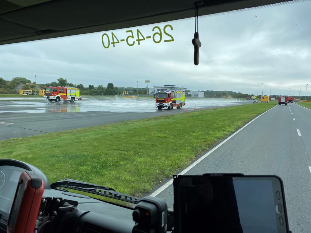 Fahrertraining für Großfahrzeuge