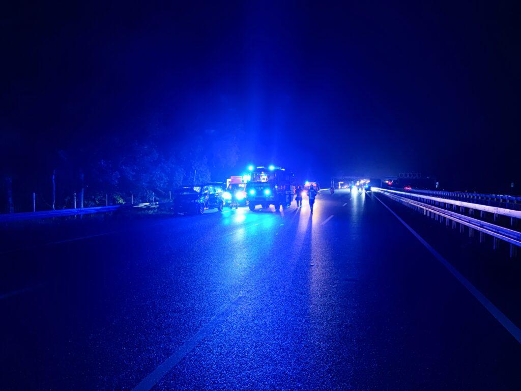 Nr. 154: Verkehrsunfall, Person eingeklemmt